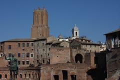 Cityscape of Rome Italy Stock Photo