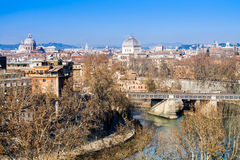 Cityscape of Rome Stock Images