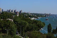 Cityscape of Rostov-on-Don, Russia Stock Image