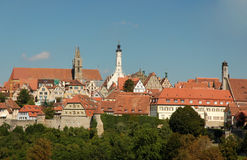 Cityscape of Rothenburg Stock Photography
