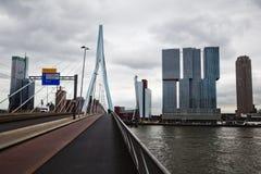 Cityscape of Rotterdam Stock Image