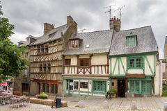 Cityscape Saint-Brieuc Royalty Free Stock Photography