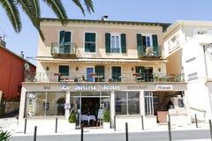 Cityscape of Saint Jean Cap Ferrat in France Stock Photos