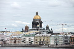 Cityscape in Saint Petersburg Royalty Free Stock Image