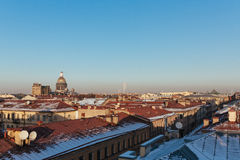 Cityscape of Saint Petersburg Stock Images