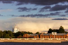 Cityscape of Saint-Petersburg Royalty Free Stock Photography