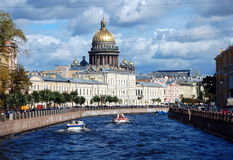 Cityscape of Saint-Petersburg Royalty Free Stock Images