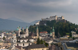 Cityscape of Salzburg Stock Photos