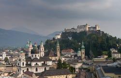 Cityscape of Salzburg Stock Photos