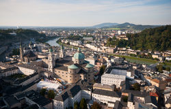 Cityscape of Salzburg Austria Stock Images