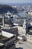 Cityscape of Salzburg, Austria Royalty Free Stock Photo