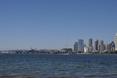 Cityscape of San Diego royalty free stock photo