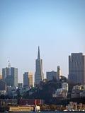 Cityscape of San Francisco stock photos