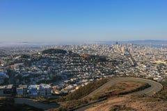 Cityscape of San Francisco Royalty Free Stock Image