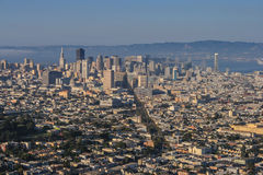 Cityscape of San Francisco Royalty Free Stock Photography