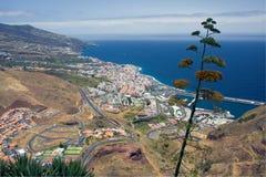 Cityscape of Santa Cruz, La Palma Royalty Free Stock Images