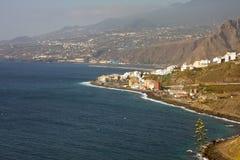 Cityscape of Santa Cruz, La Palma Stock Image
