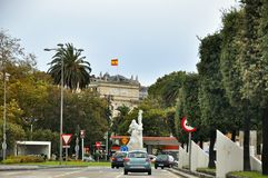 Cityscape of Santander, Cantabria Spain Stock Photography