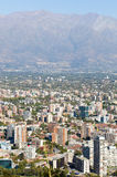 Cityscape of Santiago. Chile, South Amer Royalty Free Stock Image
