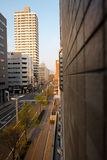 Cityscape of Sapporo (Day View) - APRIL 28, 2015: Sapporo is the Royalty Free Stock Images