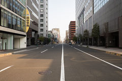 Cityscape of Sapporo (Day View) - APRIL 28, 2015: Sapporo is the Stock Image