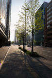 Cityscape of Sapporo (Day View) - APRIL 28, 2015: Sapporo is the Royalty Free Stock Photography