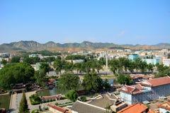 Cityscape, Sariwon, North-Korea Royalty Free Stock Photos