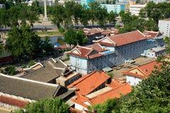 Cityscape, Sariwon, North-Korea Royalty Free Stock Image
