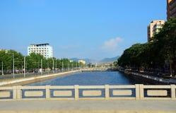 Cityscape, Sariwon, North-Korea Stock Image