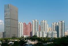 Cityscape scenery. Urban landscape of Chinese metropolis Stock Photo