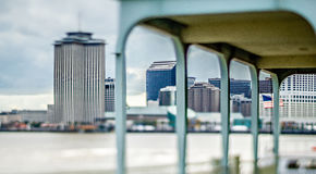 Cityscape scenes around new orleas louisiana downtown Royalty Free Stock Images