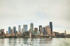 Cityscape of Seattle Stock Photos