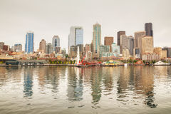 Cityscape of Seattle Royalty Free Stock Photo