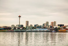 Cityscape of Seattle Royalty Free Stock Image