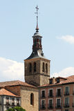 Cityscape from segovia, with an ancient steeple Royalty Free Stock Image