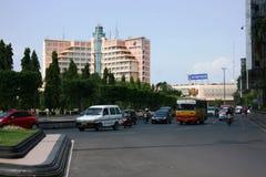 Cityscape of Semarang Stock Images