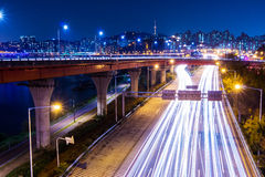 Cityscape in Seoul Royalty Free Stock Photography