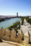 Cityscape of Seville Royalty Free Stock Image
