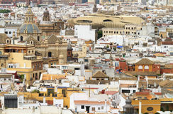 Cityscape of Seville Royalty Free Stock Photo