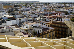 Cityscape of Seville, Spain Stock Photos