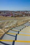 Cityscape of Seville, Spain Stock Images