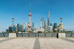 Cityscape of in Shanghai bund with modern buildings at Shanghai, China. Cityscape of in Shanghai bund with modern buildings at Shanghai, China Royalty Free Stock Photos