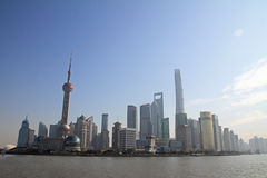 Cityscape of Shanghai Stock Photo