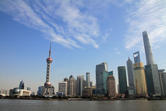 Cityscape of Shanghai Stock Photography