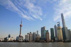 Cityscape of Shanghai Stock Photography