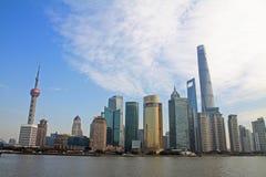 Cityscape of Shanghai Royalty Free Stock Photos