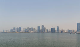 Cityscape of Sharjah Royalty Free Stock Images
