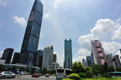 Cityscape in shenzhen Royalty Free Stock Photography
