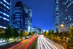 Cityscape of Shinjuku district in Tokyo, Japan Stock Image