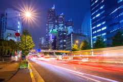Cityscape of Shinjuku district, Tokyo Stock Photography